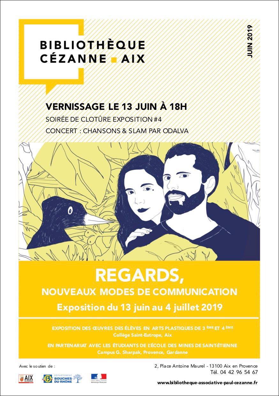 Biblio-cezanne-Affiche-recto-vernissage-13-juin-2019