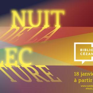 La Nuit de la Lecture #2020
